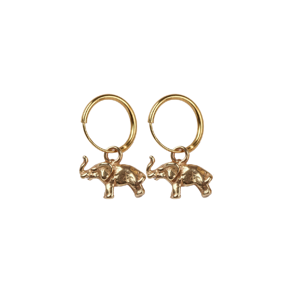Elephant pair of earrings