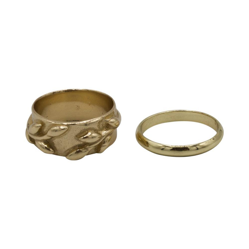 Ring leaf (set/2)