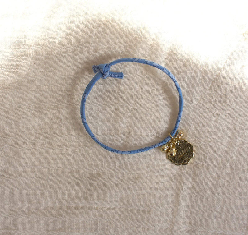 Liberty rope coin + bells blue