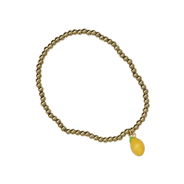 Medium balls bracelet lemon