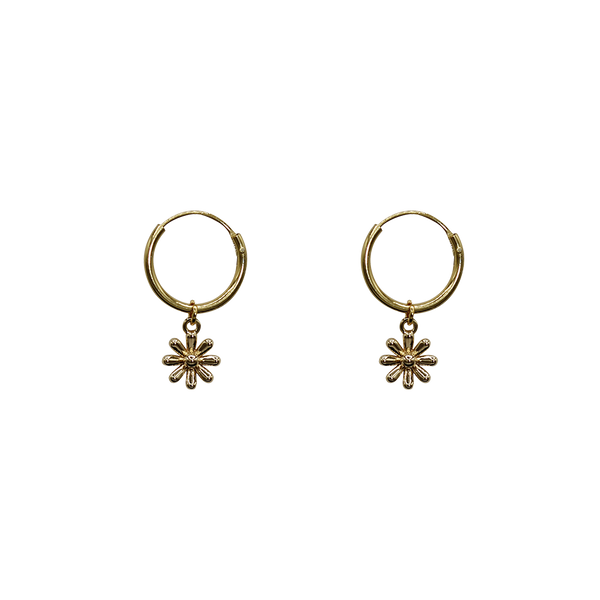 Tiny daisy pair of earrings