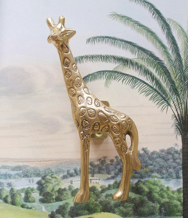Giraffe doorhandle right