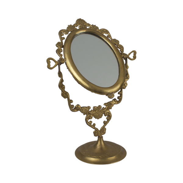 Table mirror oval