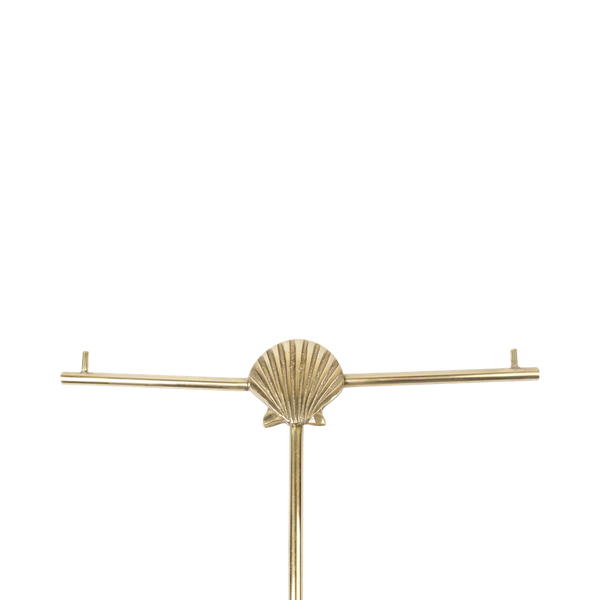 Shell jewellery stand