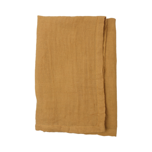 Napkins cotton gauze mustard (set/2)