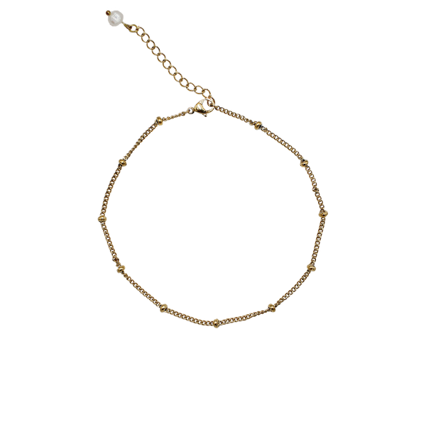 Anklet with balls