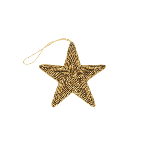 Decorative hanger beads star