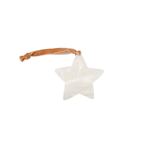 Decorative hanger MOP star