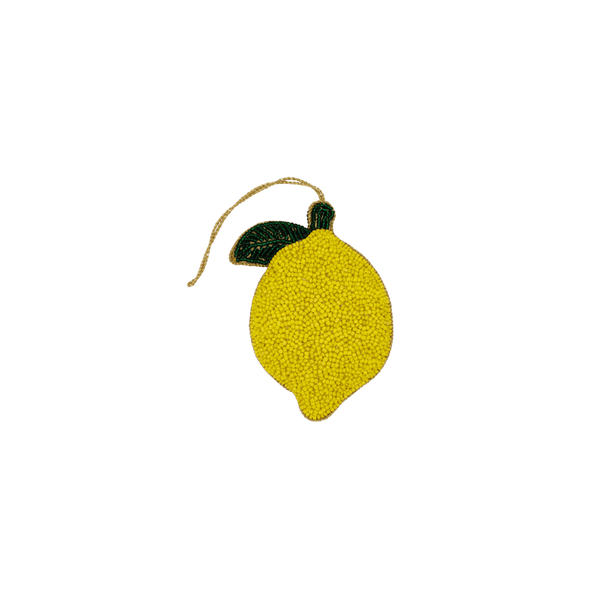 Decorative hanger beads lemon