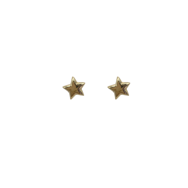 Star pin pair of earrings