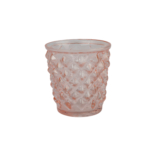 Tealight holder pink