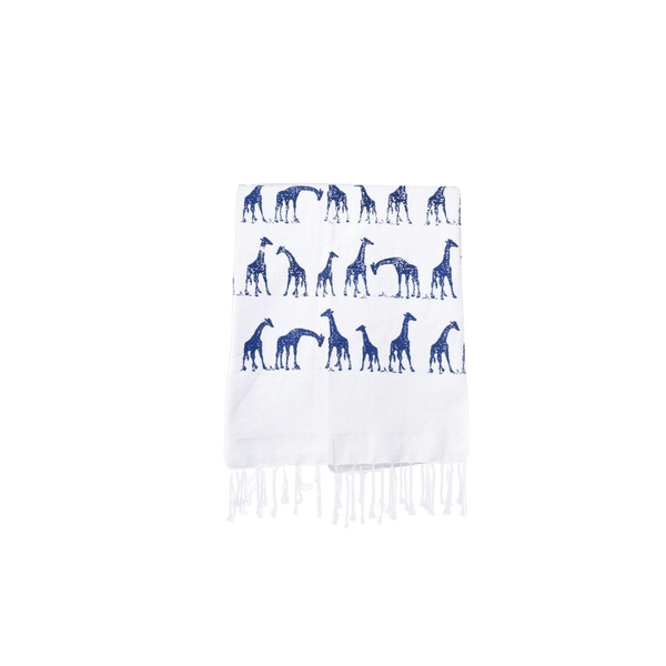 Giraffe Organic cotton hamam towel