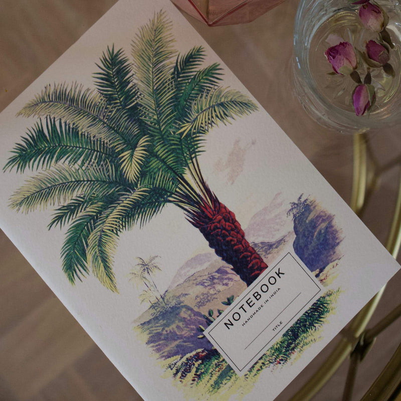 Notebook palmtree