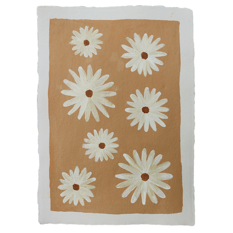 À la art - Daisy flowers A3