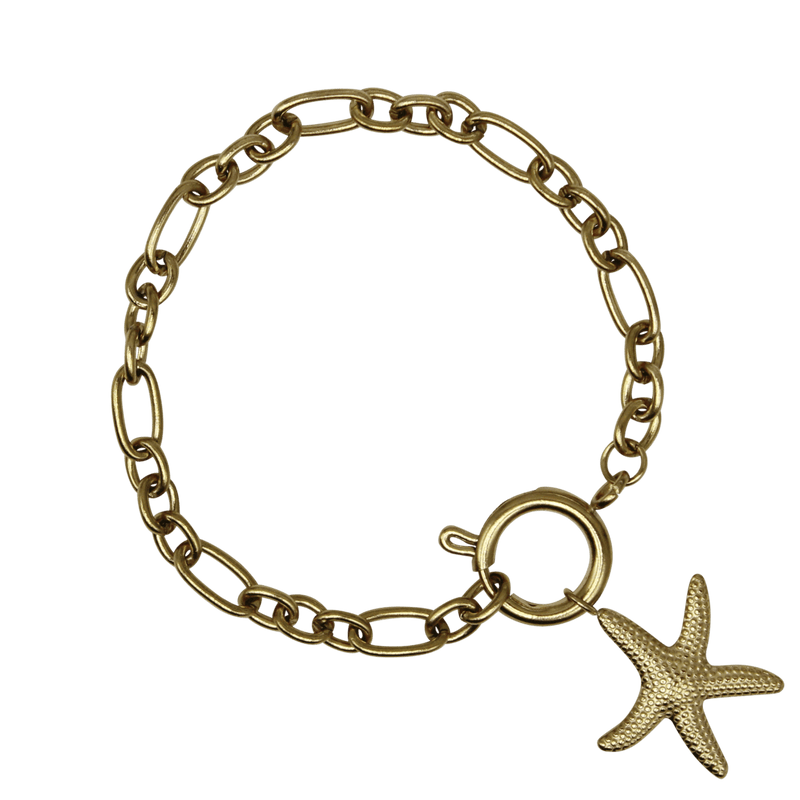 Statement bracelet starfish