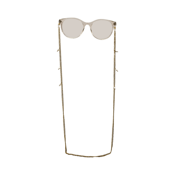 Sunglass cord chain with freshwater pearls