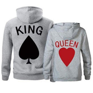 Card King & Queen Hoodies