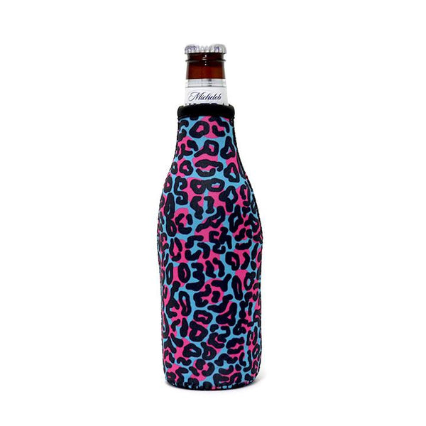 Blue Leopard Bottleneck Cooler
