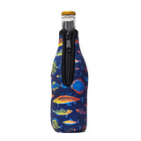 Neon Fish Bottleneck Cooler - Limited Edition*