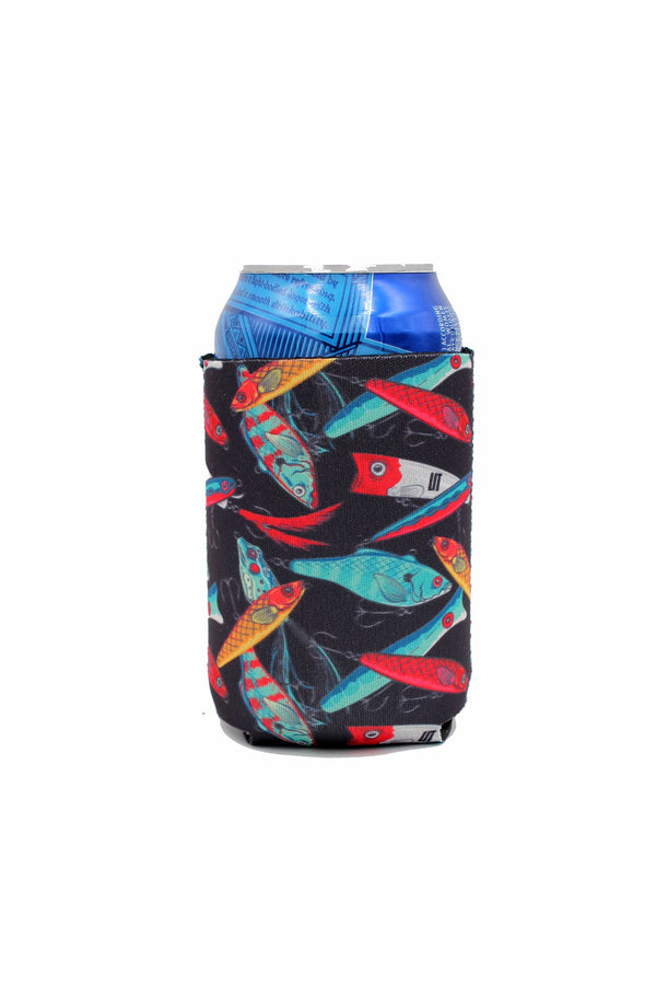 Fishing Lures 12oz Stubby Can Cooler - Limited Edition*