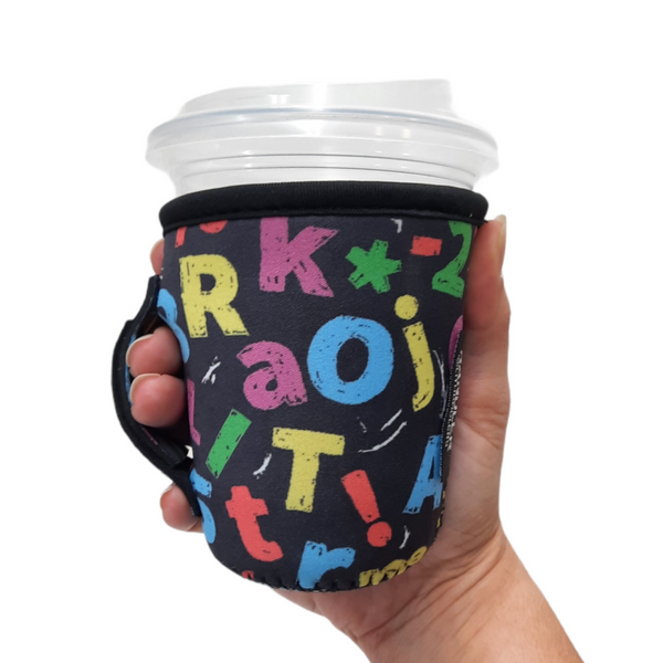 Chalkboard Letters 12oz Small/Tall Coffee Handler™