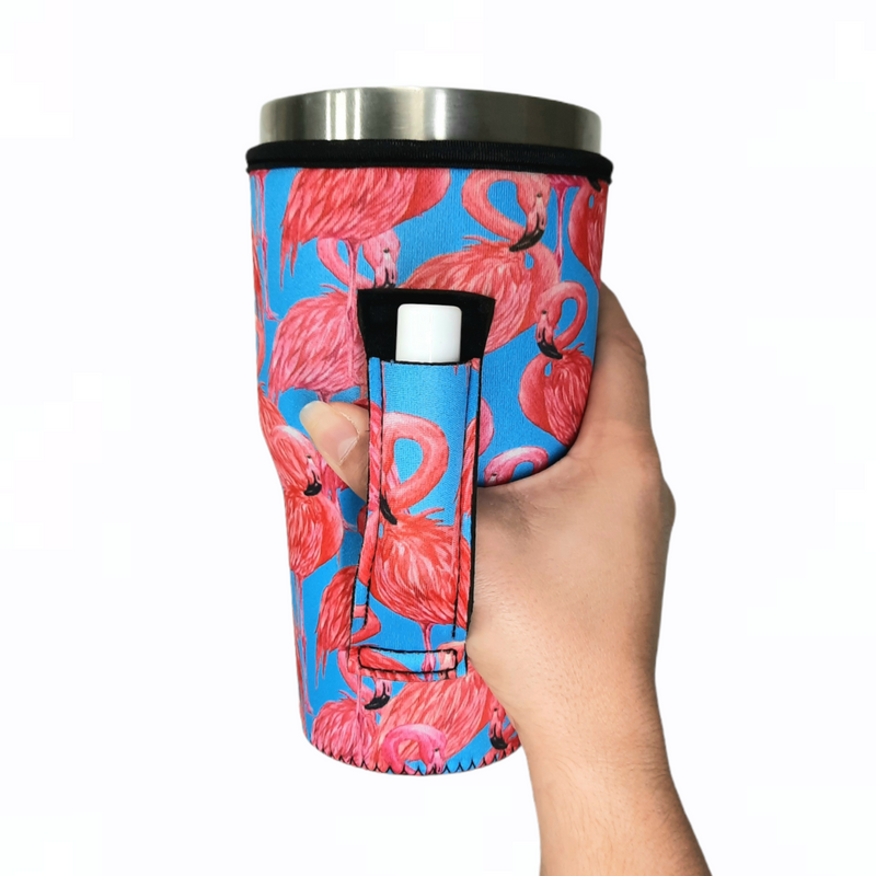 Blue Flamingo 28-40oz Tumbler Handler™