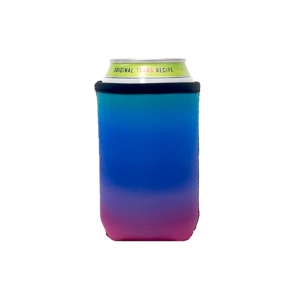 Pink Ombre 12oz Stubby Can Cooler