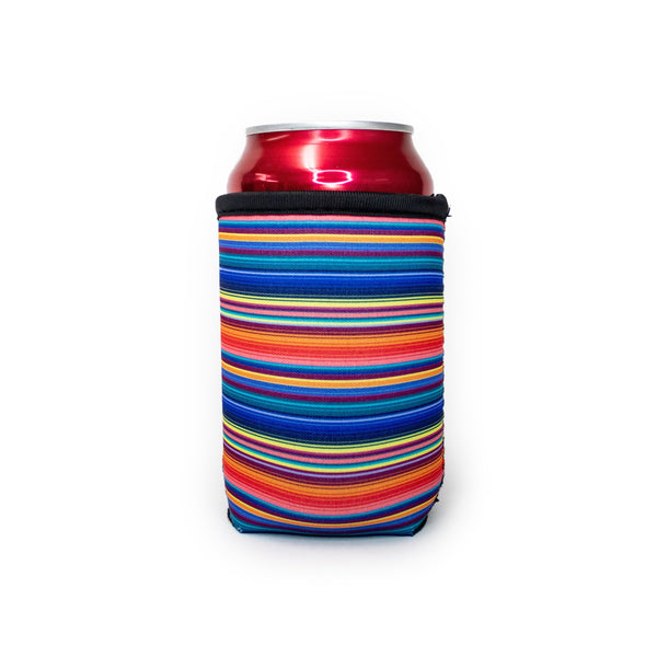 Orange Serape 12oz Stubby Can Cooler - Limited Edition*
