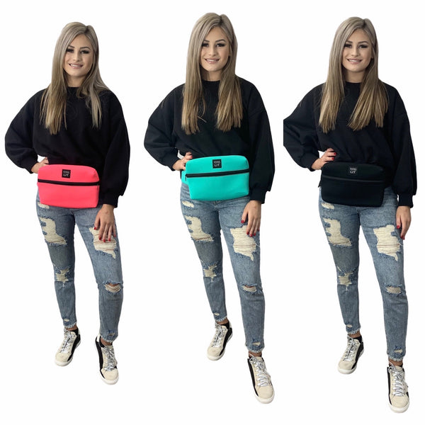 Solid Color Fanny Packin' Tote