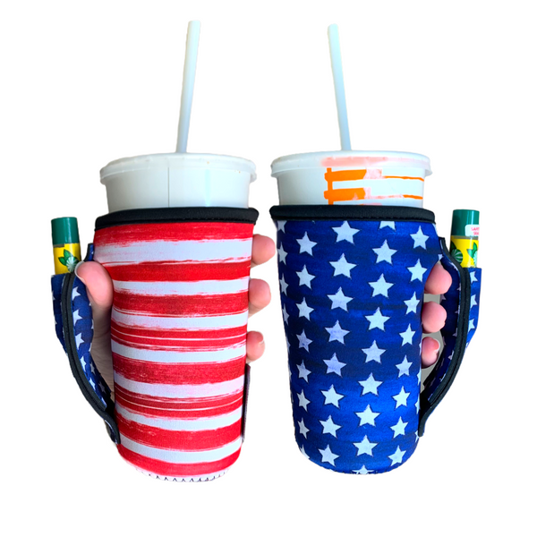 Merica 16oz Pint Glass/ Tumbler / Tea / Medium Coffee / Medium Drinks Handler™