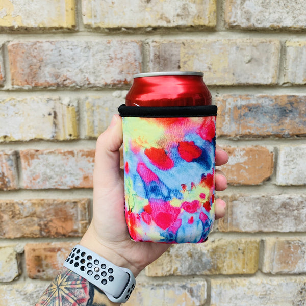 Tie Dye 12oz Stubby Can Cooler