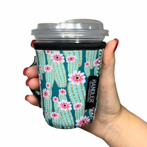 Green Cactus 12oz Small/Tall Coffee Handler™