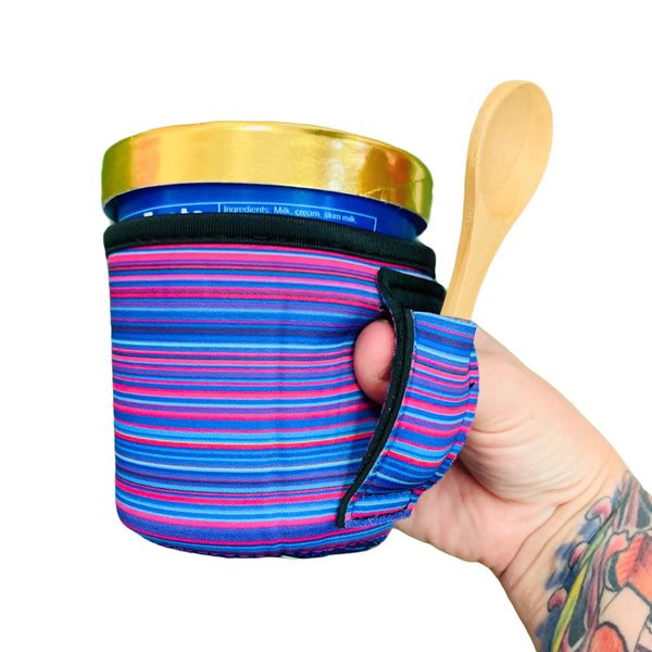 Purple Serape Pint Size Ice Cream Handler™