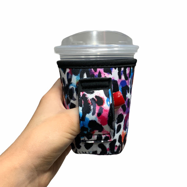 Watercolor Leopard 12oz Small/Tall Coffee Handler™