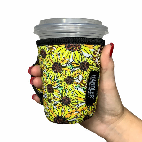 Sunflowers & Bees 12oz Small/Tall Coffee Handler™