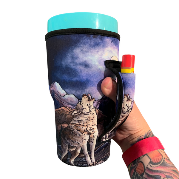 Hungry Like A Wolf  30oz Tumbler Handlers