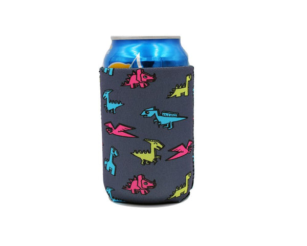 Paper Dinosaur 12oz Stubby Can Cooler - Limited Edition*