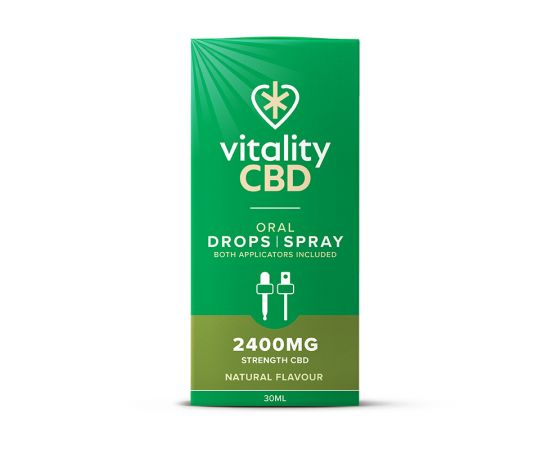 Vitality | Oral Drops & Spray 2400mg