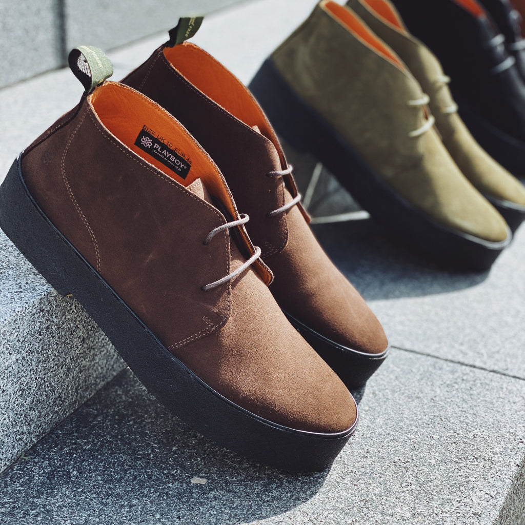 The Original Playboy Chukka style 32 - Dk.Brown