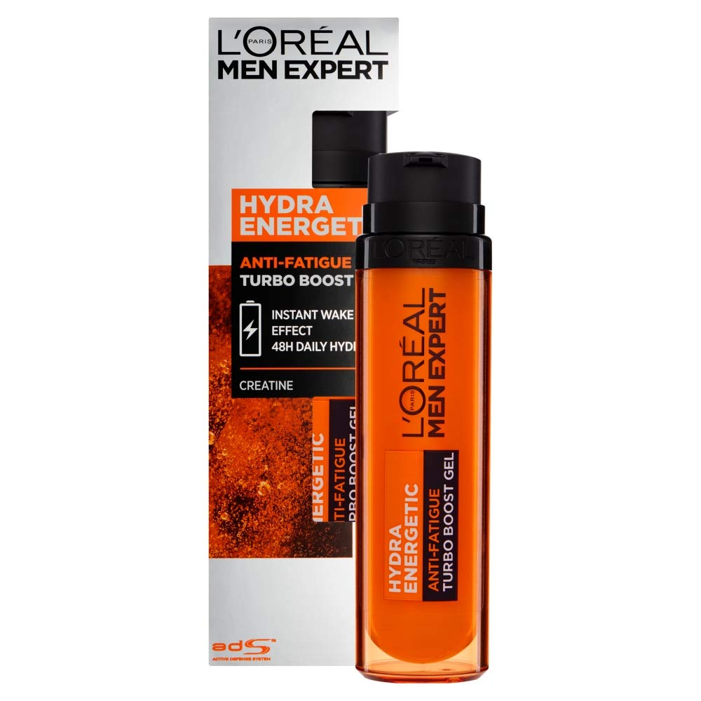 L'Oreal Paris Men Expert Hydra Energetic Anti-Fatigue Creatine Recharging Moisturiser, 50 ml Lot of 600