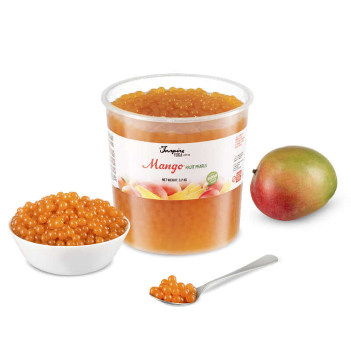 - Mango - Fruit Pearls ( 3.2kg TUB )