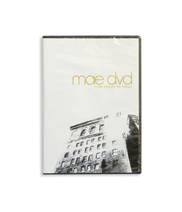 Mae - From Toledo To Tokyo DVD