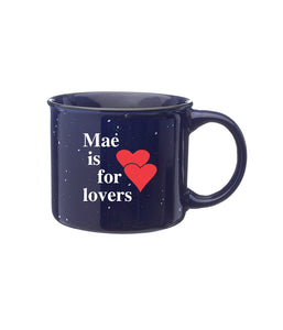 Mae Is For Lovers Ceramic Campfire Mug