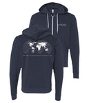 Mae Global Zip Hooded Sweatshirt