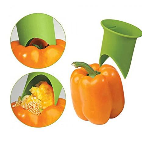 Push-n-Twist®(Set of 2) Easily Core Fruits And Veggies!