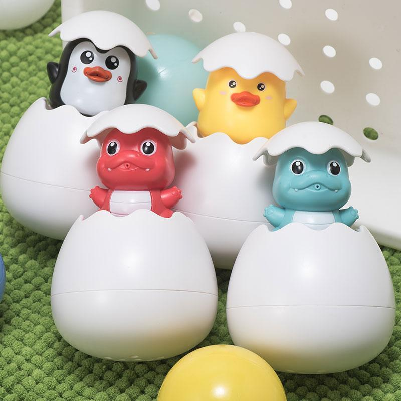 Bouncy Bath® Joyful Water Bath Egg Toy!
