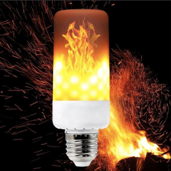 Blazing Bulb® LED Light Bulb with Flame Effect & Gravity Sensor