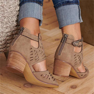 Vintage Feet® Women's Leather Sandals