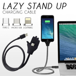 Lazy Stand Up Charging Cable®