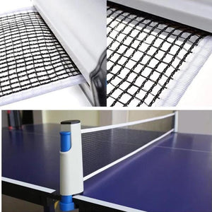 Table Tennis Anywhere® Retractable Table Tennis Net